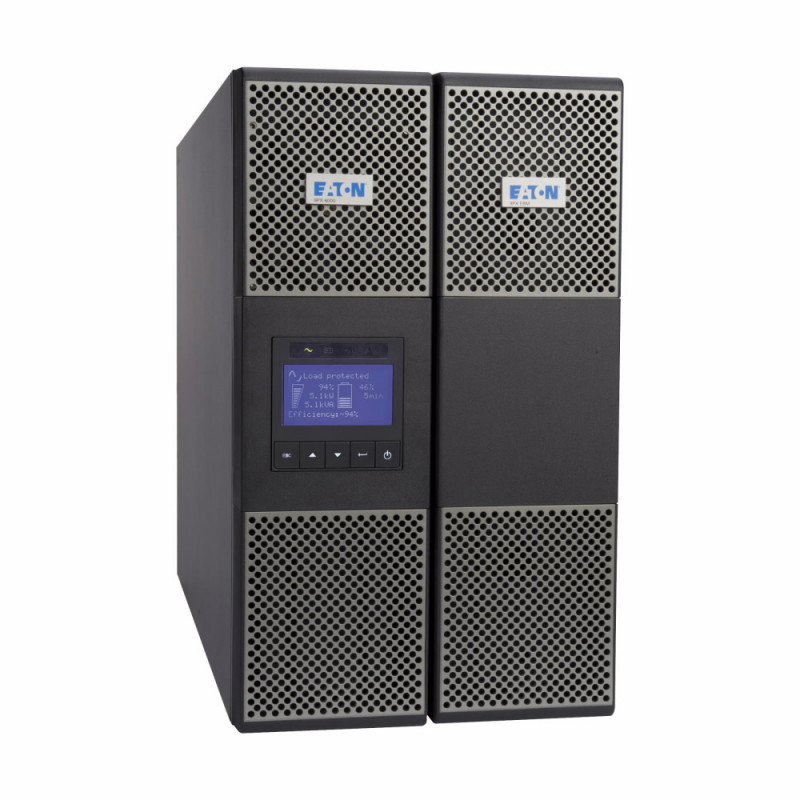 Onduleur Eaton 9PX 11000i 3:1 RT6U HotSwap Netpack Face